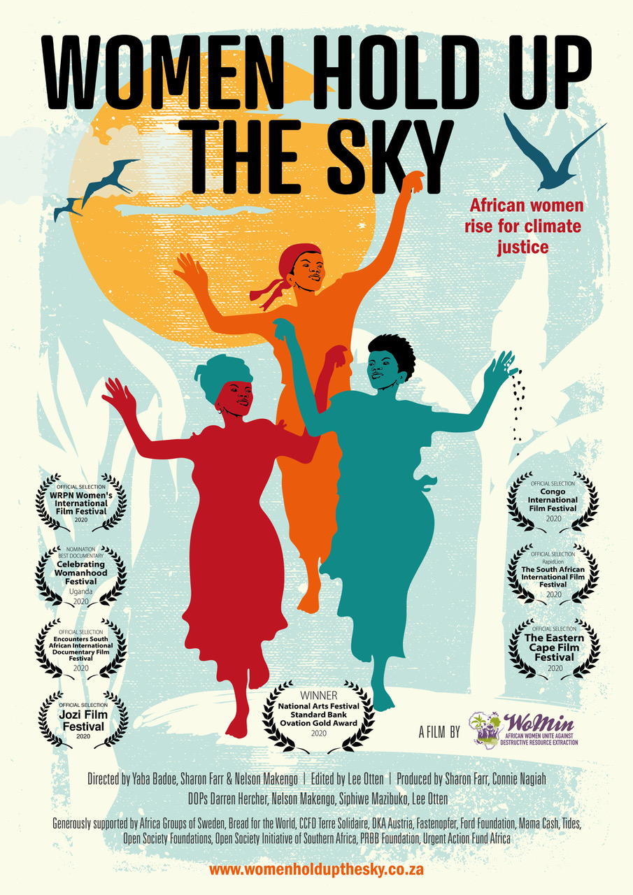 Women HOLD UP THE SKY -Awards poster2